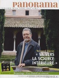 """Bernard Ugeux - Panorama N° 443, Mai 2008 : """"Va vers la source intérieure""""."""