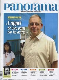 """Bertrand Révillion - Panorama N° 462, Février 2010 : """"L'appel de Dieu passe par les autres""""."""