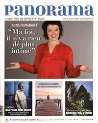 "François-Xavier Maigre - Panorama N° 520, juillet-août : Anne Roumanoff - ""Ma foi, il n'y a rien de plus intime""."
