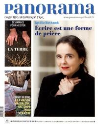 François-Xavier Maigre - Panorama N° 537, février 2017 : Amélie Nothomb - Ecrire est une forme de prière.