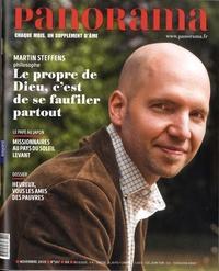Marie-Christine Vidal - Panorama N° 567, Novembre 201 : Martin Steffens, Le propre de Dieu, c'est de se faufiler partout.