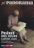 Bertrand Révillion et Christophe Chaland - Panorama N° 69 hors-serie : Prières des jours - Carême 2009.