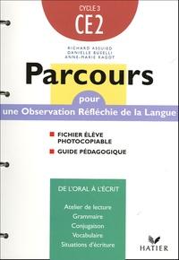 Danielle Buselli et Anne-Marie Ragot - Parcours CE2 - Fichier élève photocopiable + Guide pédagogique.