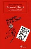 Giovanni Dotoli - Parole et liberté - La langue de Mai 68.