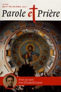 Parole et Prière N° 106, avril 2019.pdf