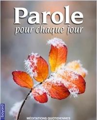 Bayard Presse - Parole pour chaque Jour n°21 - janv-mars 2020 (lot 25ex).