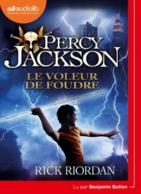Rick Riordan - Percy Jackson Tome 1 : Le voleur de foudre. 1 CD audio