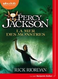 Rick Riordan - Percy Jackson Tome 2 : La mer des monstres. 1 CD audio MP3