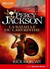 Rick Riordan - Percy Jackson Tome 4 : La bataille du labyrinthe. 1 CD audio MP3