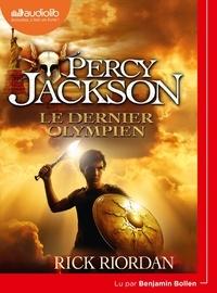 Rick Riordan - Percy Jackson Tome 5 : Le Dernier Olympien. 1 CD audio MP3