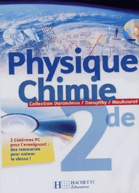 Anonyme - Physique, chimie 2e - 2 CD Rom pour l'enseignant.