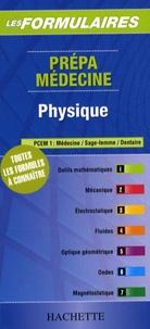 Hachette - Physique - Prépa médecine PCEM 1.