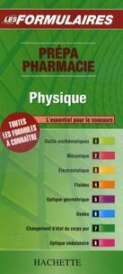 Hachette - Physique - Prépa Pharmacie.