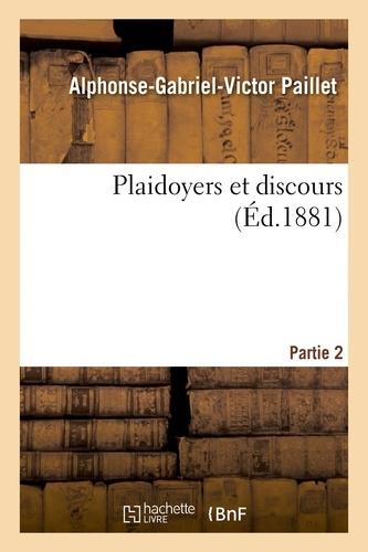 Hachette BNF - Plaidoyers et discours.