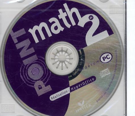 Hatier - Point math 2e - CD-ROM.