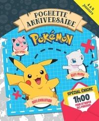 Emilie Malandain et  Hachette Jeunesse - Pokémon Pochette anniversaire - Défi chant + défi puzzle + défi mime.