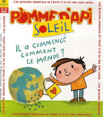 Sophie Furlaud - Pomme d'Api Soleil N° 67, Juin-Juillet : Il a commencé comment le monde ?.