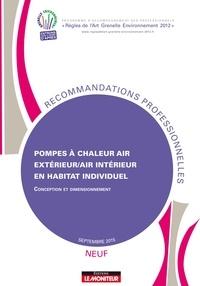 Programme RAGE - Pompes à chaleur air extérieur/air intérieur en habitat individuel.