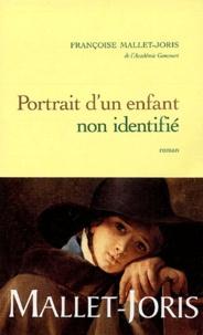 Françoise Mallet-Joris - Portrait d'un enfant non identifié.