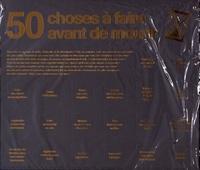Hachette Pratique - 50 choses à faire avant de mourir.