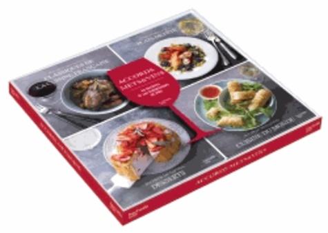 Accords Mets Et Vins Coffret En 4 Volumes Classiques De La Cuisine Francaise Plats De Fete Desserts Cuisine Du Monde
