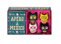 Coffret Apéro à Mexico- Contient : 4 mini-verres