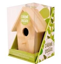 Hachette Pratique - Coffret La cabane aux oiseaux - Contient : 1 nichoir en bois et 1 livre.