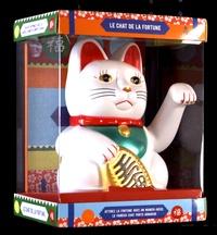 Hachette Pratique - Coffret Le chat de la fortune - Attirez la fortune avec un maneki-neko, le fameux chat porte-bonheur.