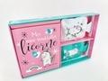 Hachette Pratique - Coffret Mes mini-bouillottes licorne - Mon carnet Licorne avec 2 mini-bouillottes réutilisables.