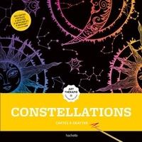 Hachette Pratique - Constellation - Cartes à gratter avec 1 bâtonnet..