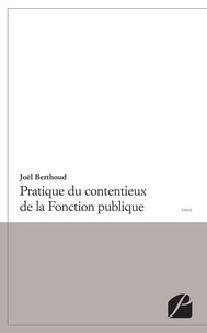 Pratique du contentieux de la fonction publique.pdf
