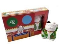 Hachette Pratique - Le chat de la fortune - Avec une statuette de Maneki Neko.