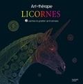 Hachette Pratique - Licornes - 6 cartes à gratter anti-stress.