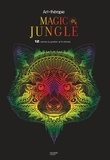 Hachette Pratique - Magic Jungle - 12 cartes à gratter anti-stress.