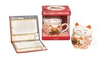 Hachette Pratique - Mug chat de la fortune - Avec 1 mug et 1 carnet de compte japonais.