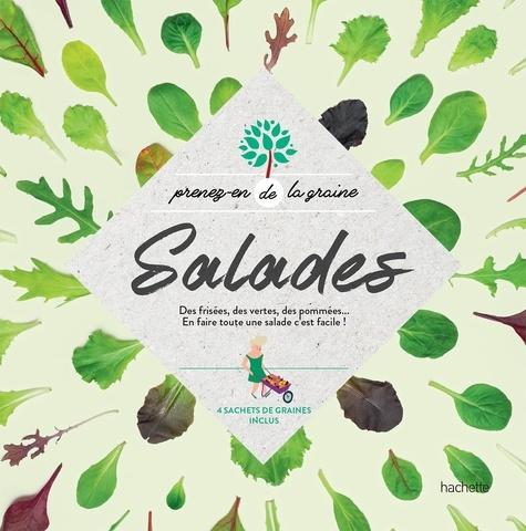 Salades. Des frisées, des vertes, des pommées... En faire toute une salade c'est facile !