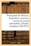 De h.-l. motti Impr. - Principauté de Monaco. Exposition, concours et courses de canots automobiles et hydro-aéroplanes.