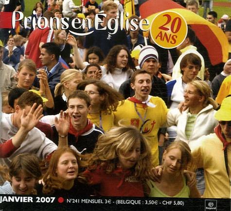 Benoît Gschwind - Prions en Eglise petit format N° 241, Janvier 2007 : .