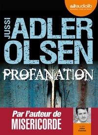 Jussi Adler-Olsen - Profanation. 2 CD audio MP3