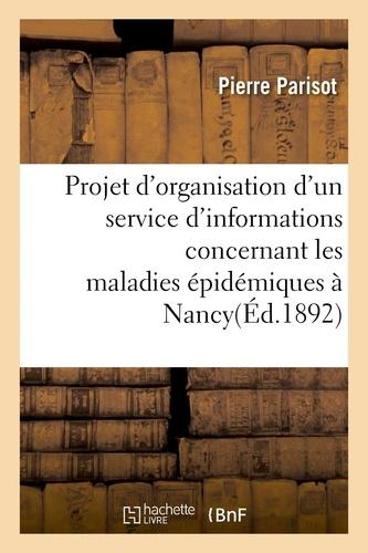Hachette BNF - Projet d'organisation d'un service d'informations.
