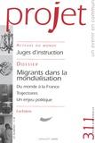 Françoise Terrel-Salmon et Bertrand Cassaigne - Projet N° 311, Juillet 2009 : .