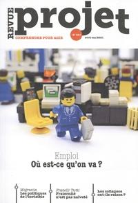 Benoît Guillou et Bertrand Cassaigne - Projet N° 381, avril-mai 20 : Emploi - Ou est-ce qu'on va ?.