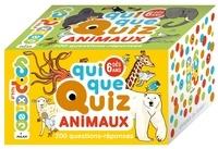 Pascal Prévot et Anne Rouquette - QuiQueQuiz Animaux - 200 questions-réponses.