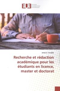 James Conable - Recherche et rédaction académique pour les étudiants en licence, master et doctorat.