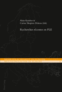 Alain Kamber - Recherches récentes en FLE.