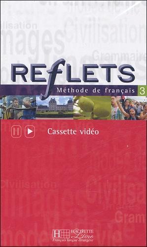 Hachette - Reflets niveau 3 - Cassette Vidéo.