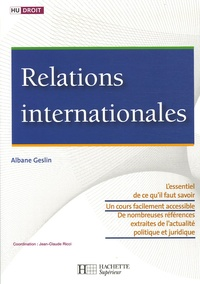 Albane Geslin - Relations internationales.