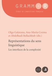Olga Galatanu et Ana-Maria Cozma - Representations du sens linguistique - Les interfaces de la complexité.