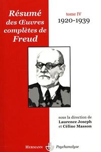 Résumé des oeuvres complètes de Freud - Tome 4, 1920-1939.pdf