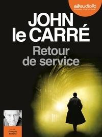 John Le Carré - Retour de service. 1 CD audio MP3